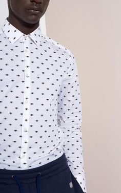 Mini Eyes Shirt for Men Kenzo | Kenzo.com