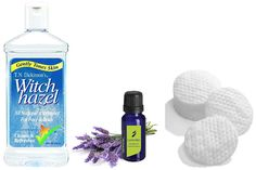 witch hazel and lavender