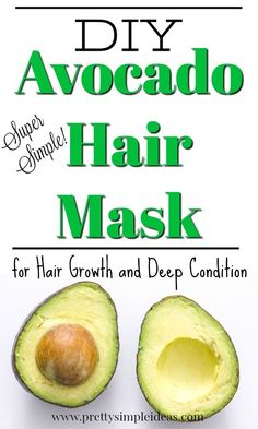 DIY Deep Conditioner Avocado Hair Mask Is your hair dry? Try this DIY Avocado Hair Mask for growth or deep condition. The other benefits include added shine and dealing with split ends. Avocado Mask, Diy Conditioner, Homemade Deep Conditioner, Split Ends Hair, Deep Conditioner For Natural Hair, Dry Brittle Hair, Hair Mask For Growth, Coconut Oil Hair Mask, Braids