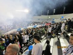 Southsiders section last game @ Empire Stadium