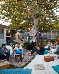 An Outdoor Movie Party Gatherings From The Kitchn | The Kitchn