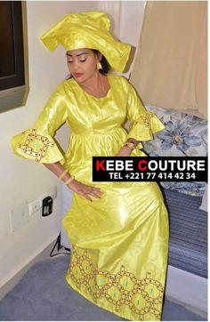 Sénégalaise 🇸🇳 Best African Dresses, African Fashion Skirts, African Lace, African Attire, African Wear, Senegalese Styles, Ankara Peplum Tops, Beautiful Dress Designs, Kaftan Style