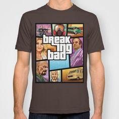 Breaking Bad: GTA T-shirt by Messypandas