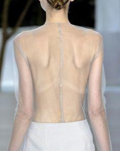 tissu transparent