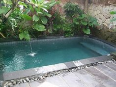 how to build a small plunge pool - Google Search