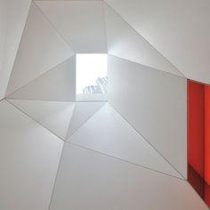 geometrische formen vieretagen moderne dachwohnung in new york