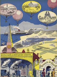 Edward Bawden: Travel Fantasia, 1947.
