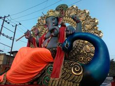 Shri Ganesh, Ganesha Art, Lord Ganesha, Ganesha Pictures, Ganesh Images, Ganesh Idol, Ganesh Wallpaper, Ganpati Bappa, Hindu Deities