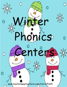 This 27 page packet includes 4 simple and fun snowman themed activities that focus on blending short vowel words, rhyming pictures, and ch, sh, wh, th real words/nonsense words. Easy to set up and fun for learning