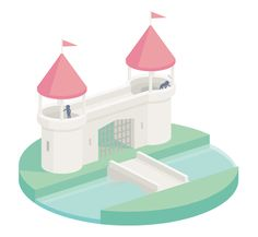 """Here is a series of animated GIFs made by the French graphic designer Guillaume Kurkdjian. In this second series of """"Bisous les copains"""", the Illustration Tumblr, Flat Illustration, Vector Animation, Photoshop Video, Gif Art, Game Environment, Isometric Design, 1 Gif, Cartoon Gifs"""