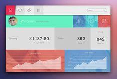 Very Visually Brilliant App Dashboard Design Concepts Sales Dashboard, Dashboard Interface, Web Dashboard, Dashboard Design, User Interface Design, Ui Design, Design Concepts, Design Ideas, Graphic Design