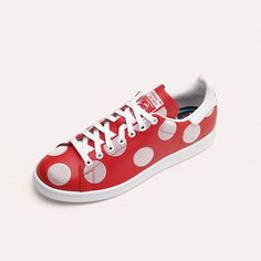 Pharrell Williams x adidas Originals Stan Smith 'Large Polka Dot': Red