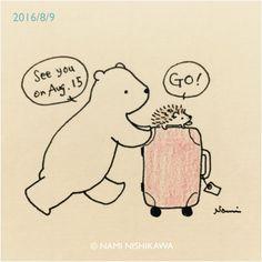 See you November 3 Hedgehog Drawing, Hedgehog Art, Cute Hedgehog, Hedgehog Illustration, Illustration Art, Doodle Drawings, Cute Drawings, Baby Animals, Cute Animals