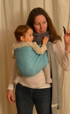 Avis PESN Petite Echarpe Sans Noeud JPMBB. Portage physiologique, sling