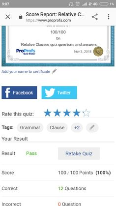 Quiz Questions And Answers, Question And Answer, Quiz Maker, Advanced Grammar, Relative Clauses, Names