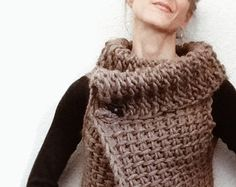 Instructions to Make: the Tunisian Crochet Vest PDF PATTERN ONLY