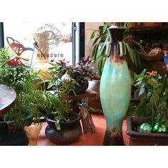 Grande poterie jarre en terre cuite déco intérieure
