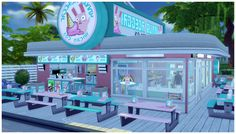 WIP: Freezer Bunny Ice Cream v3.0I decided today to convert my Freezer Bunny Ice Cream stand from retail shop to an actual restaurant. I'm currently referring to this new updated version as the...