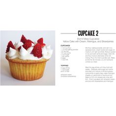 33 Cupcake Recipes, Oh Ming, You Are Genius! ❤ liked on Polyvore featuring home, kitchen & dining, cookbooks, cupcakes, recipe box, recipe cookbook and recipe tin
