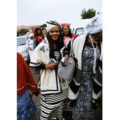 It's still heritage month.  #wedding #Xhosa #Heritage #Bride