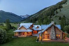 Ranch house. Maybe the scale and location is a little to unrealistic. But I'd love it nonetheless.
