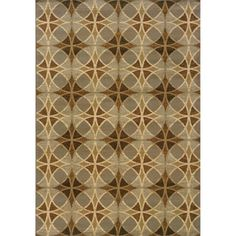 @Overstock - This beautiful geometric design area rug offers a circle motif in shades of blue, beige and green. Featuring a durable yet soft polypropylene construction, this beautiful rug will make a wonderful addition to any room.http://www.overstock.com/Home-Garden/Indoor-Blue-and-Beige-Area-Rug/7576698/product.html?CID=214117 $19.79