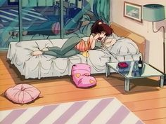 80s anime — 80s anime girl room aesthetic part 2 (see part 1...