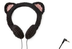 cat ear headphones - how cute are these?