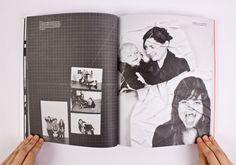 WORK - Pratt Yearbook 2012 by Danielle Mitchell, via Behance