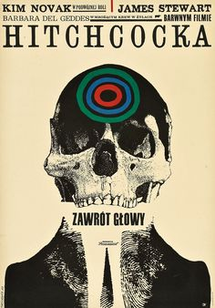 Gaze at Global Movie Posters for Hitchcock's Vertigo: U.S., Japan, Italy, Poland & Beyond