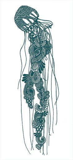 Jelly Fish by Rosalind Monk. A visit to offers more wonders