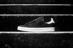 Adidas Originals Stan Smith Vulc – Black / White • KicksOnFire.com
