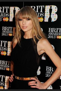 Taylor Swift - Brit Awards 2013 - London, England