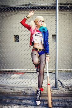 This Suicide Squad Harley Quinn Cosplay Is Perfection #camiseta #cosplayer…