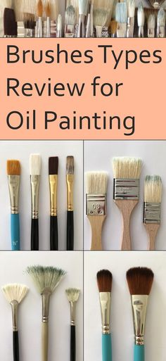 guide-for-types-of-paintbrushes-for-oil-painting-from-natural-or-synthetic-bristles-filbert-round-flat-bright-fan-liner-angular-and-mop-brush/ SULTANGAZI SEARCH Oil Painting Basics, Oil Painting Trees, Oil Painting Supplies, Oil Painting For Beginners, Oil Painting Techniques, Oil Painting Abstract, Painting Clouds, Painting Classes, Painting Videos