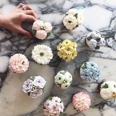 Cupcake Nanacake Buttercream  Flowercake 꽃케이크