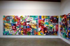 "Image of Kenny Scharf ""Pop Renaissance"" @ Honor Fraser Gallery"