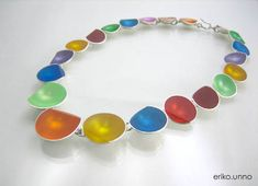ERIKO UNNO -JP, Japan: Necklace / silver.resin