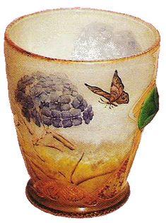 vases gallé