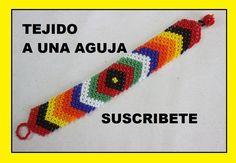 TEJIDO A UNA AGUJA EN MOSTACILLA Beading Projects, Beading Tutorials, Herringbone Necklace, Handmade Beaded Jewelry, Native American Beading, Friendship Bracelet Patterns, Macrame Bracelets, Bracelet Tutorial, Bead Weaving
