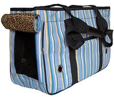 Pet Dog Puppy Cat Kitty Travel Carry Carrier Stripe Handbag Bag Toter (PD0129) (Blue, Large 50*21*31cm) PANASIAUS http://www.amazon.com/dp/B016B3BW6A/ref=cm_sw_r_pi_dp_aEp-wb1FXKCXB 40 each