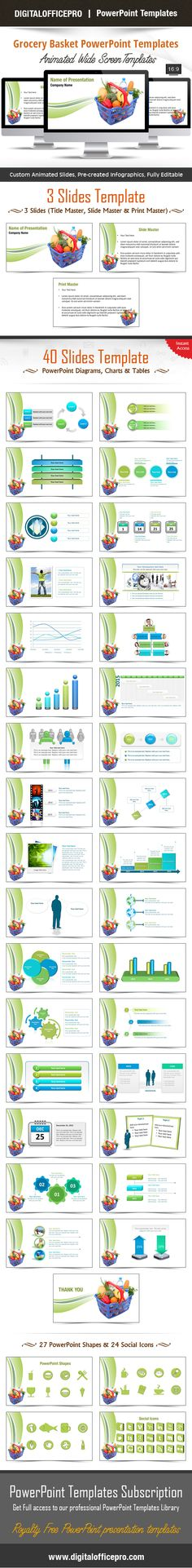 Metro rail tunnel powerpoint template backgrounds powerpoint impress and engage your audience with grocery basket powerpoint template and grocery basket powerpoint backgrounds from toneelgroepblik Choice Image