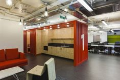 Google campus in London by Jump Studios.