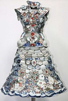 Ceramic Clothing - Actual Porcelain Shirt by Li Xiaofeng Created for Lacoste (UPDATE) (GALLERY)