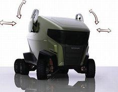 Futuristic Truck, Future Vehicle, scania motion 3