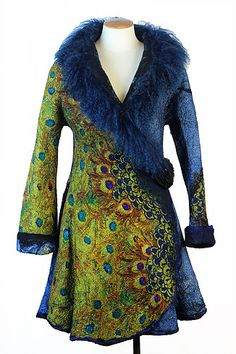 Cindy Anne Creations - Felted Jacket Gallery
