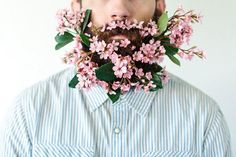 Цветы в бороде . Новый тренд в мире флористики - https://www.dejavu-flowers.ru/flowers-beards/
