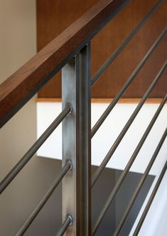 Steel Stair Railing, Loft Railing, Outdoor Stair Railing, Staircase Railing Design, Interior Stair Railing, Modern Stair Railing, Staircase Handrail, Steel Stairs, Exterior Stairs