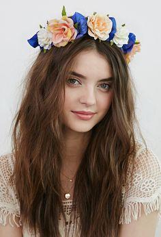 Rose Flower Crown | Forever 21 - 1002246543