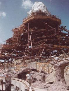 The Matterhorn Bobsleds at Disneyland was the world's first steel tubular roller coaster and it paved the future of the modern coasters we love today. American Coaster Enthusiasts have declared it a historical landmark. Hard to believe this photo is over 53 years old!